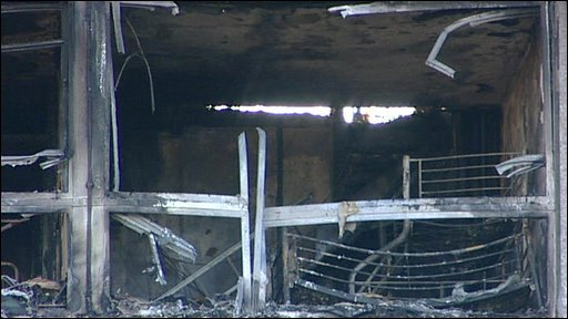 Camberwell fire damage