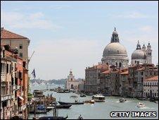 Punta della Dogana in Venice, Italy
