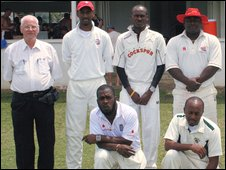 Alcwyn Jenkins on tour in the West Indies with South Wales Cricket Assocation