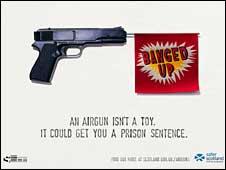 Gun crime poster