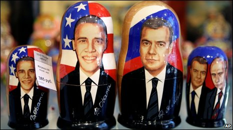 Russian traditional wooden dolls,