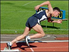 Scottish athlete Allan Stuart