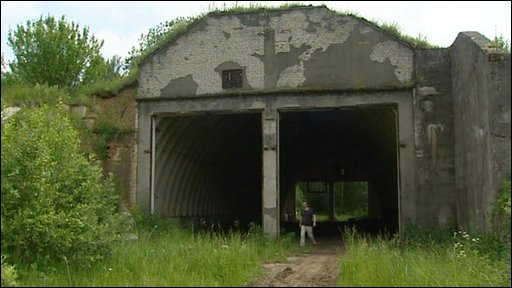 Former Cold War base