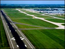 Stansted Airport runway