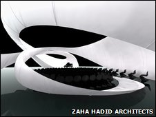 Chamber music hall by Zaha Hadid Architects