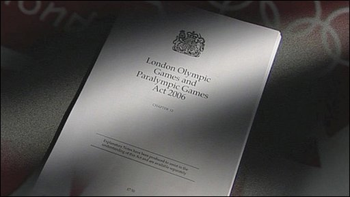 Copy of the London Olympic Games and Paralympic Games act