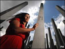 Saba Mozakka examines the memorial