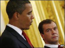 President Obama and President Medvedev