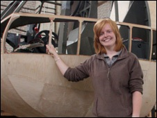 Assault Glider Project Curator Rachel Abbiss