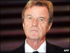 French Foreign Minister, Bernard Kouchner, pictured 14 June, 2009