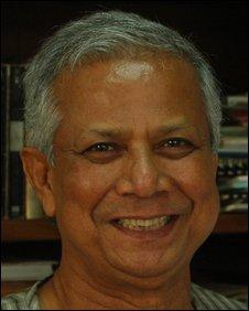 Nobel Peace Prize winner Profesor Muhammad Yunus