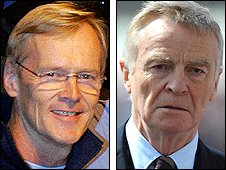 Ari Vatanen and Max Mosley