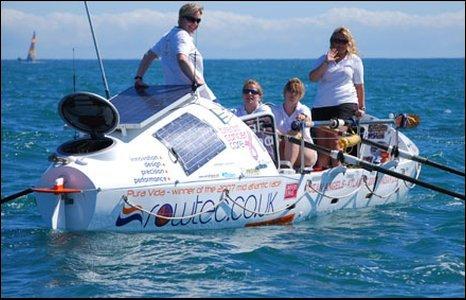 The Ocean Angels' team
