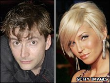 David Tennant and Sarah Harding