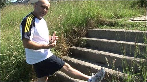 Fitness consultant Steve Harris