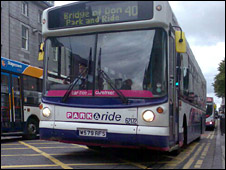 First Bus in Aberdeen
