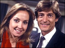 Susan Skipper and Nigel Havers