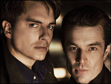 John Barrowman and James Marsters