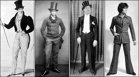 Trouser styles through the ages