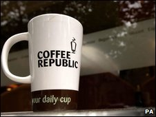 Coffee Republic mug
