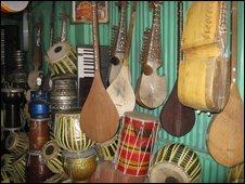 Kabul music shop