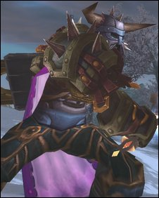 Death knight, Blizzard