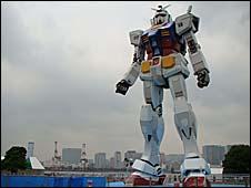 Giant Gundam in Tokyo