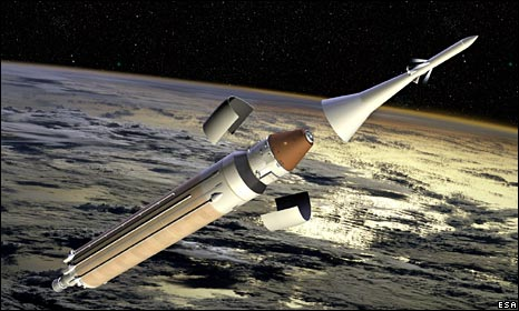 Manned version of ARV being launched (Esa)