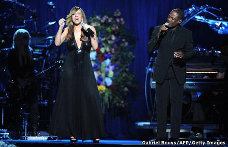 Mariah Carey and Trey Lorenz