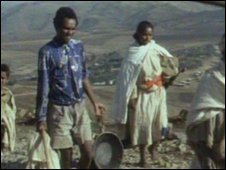 Aklog Adarge leaves his village
