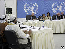 UN hearings, Gaza, 27.06.09