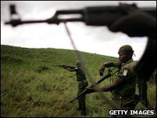 Congolese soldiers, file image