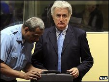 Radovan Karadzic file photo