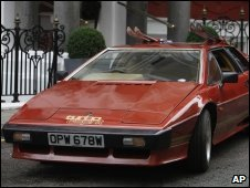 James Bond's Lotus Esprit