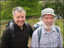 Derek Brockway meets up with seasoned walker Chris Barber