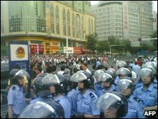 Protests in Xijiang