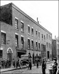 The first home in Church Street, Waterloo