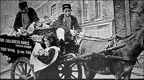 Original transportation for children at Action for Children in Waterloo
