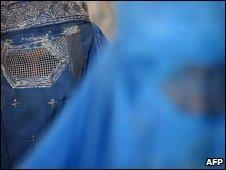 Afghan women in Kabul, 7 July