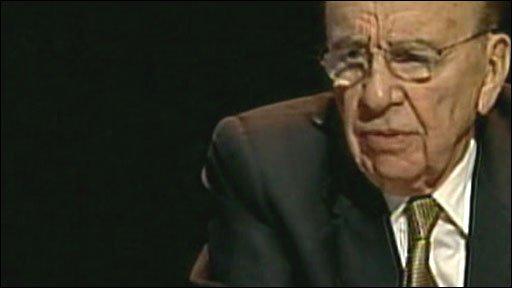 News Corporation head, Rupert Murdoch