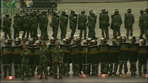 China riots 'under control'