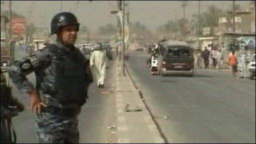 Sadr City bomb blast