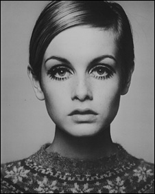 Twiggy, 1966 by Barry Lategan © Barry Lategan