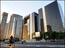 "new highrise developments in Beijing""s Central Business District"