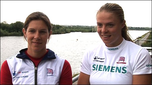 Annabel Vernon and Anna Bebington