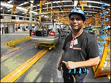 Car factory in Venezuela