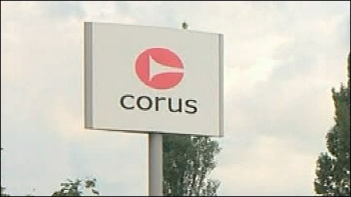 Corus sign
