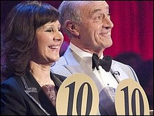 Arlene Phillips and Len Goodman