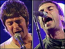 Noel and Liam Gallagher, Oasis