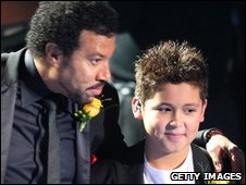 Lionel Ritchie and Shaheen Jafargholi